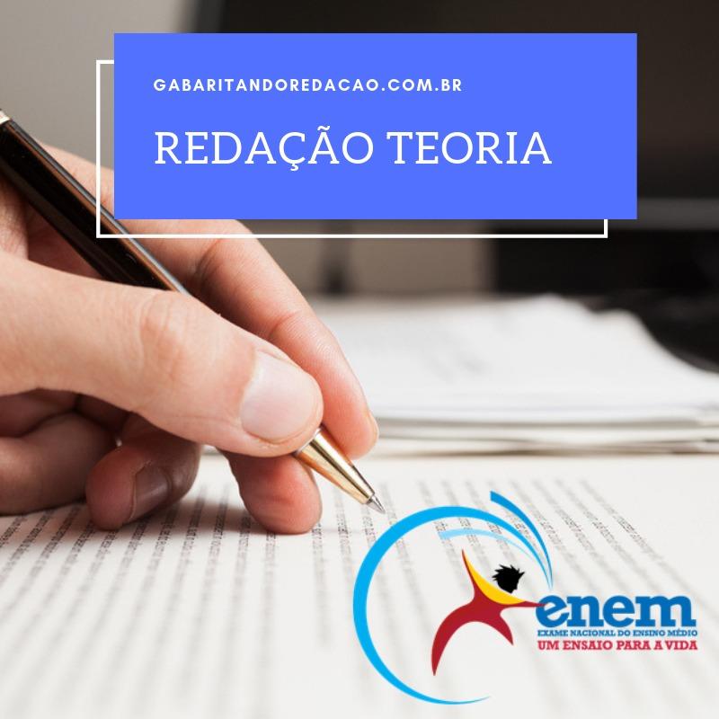 CURSO TEÓRICO DE REDAÇÃO PREPARATÓRIO ENEM