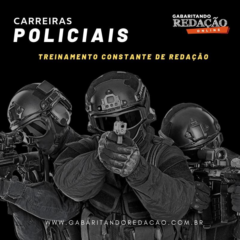 CURSO DE REDAÇÃO PREPARATÓRIO PARA CONCURSO DE CARREIRAS POLICIAIS