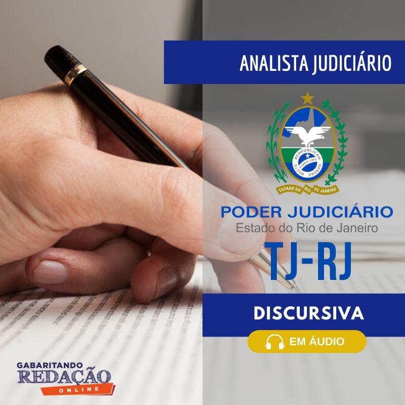 CURSO DE REDAÇÃO PREPARATÓRIO PARA O CONCURSO DO TJ/RJ
