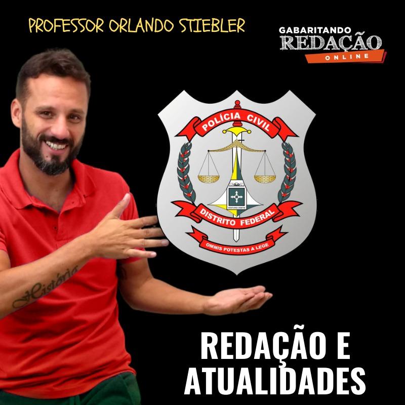 CURSO DE REDAÇÃO PREPARATÓRIO PARA O CONCURSO DA POLÍCIA CIVIL DO DISTRITO FEDERAL PCDF