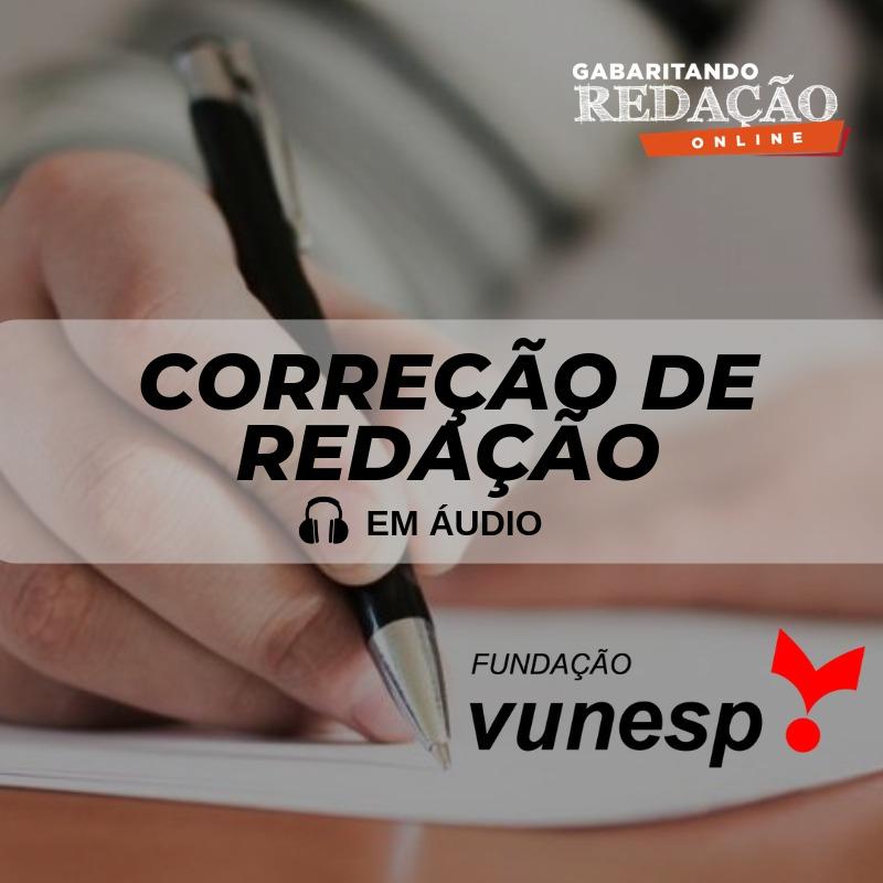 CURSO DE REDAÇÃO PREPARATÓRIO PARA OS CONCURSOS DA BANCA VUNESP