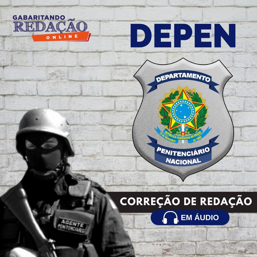 CURSO DE REDAÇÃO PREPARATÓRIO PARA O CONCURSO DEPEN + BÔNUS CURSO TEÓRICO