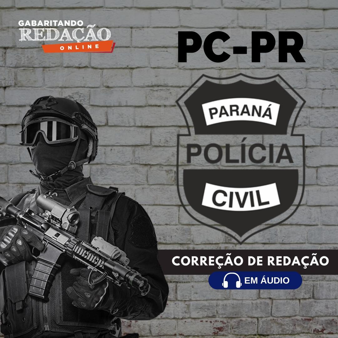 CURSO DE REDAÇÃO PREPARATÓRIO PARA O CONCURSO DA PC-PR