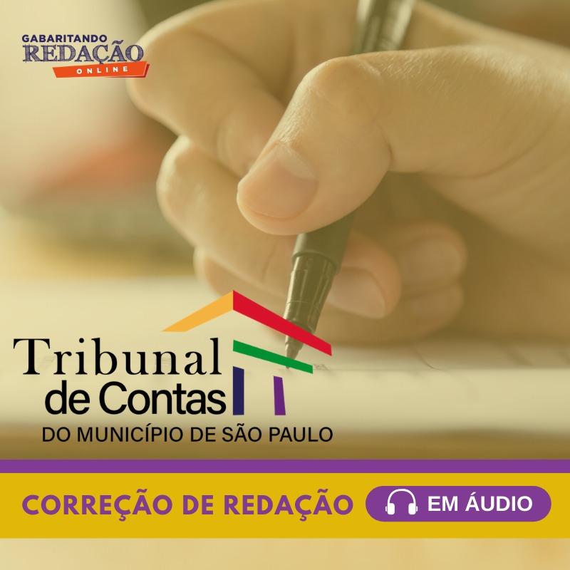 CURSO DE PORTUGUÊS E REDAÇÃO PREPARATÓRIO PARA O CONCURSO DO TCM/SP