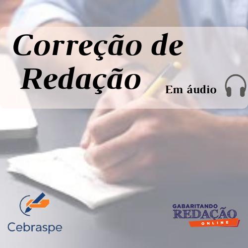 CURSO DE REDAÇÃO PREPARATÓRIO PARA OS CONCURSOS DA BANCA CEBRASPE