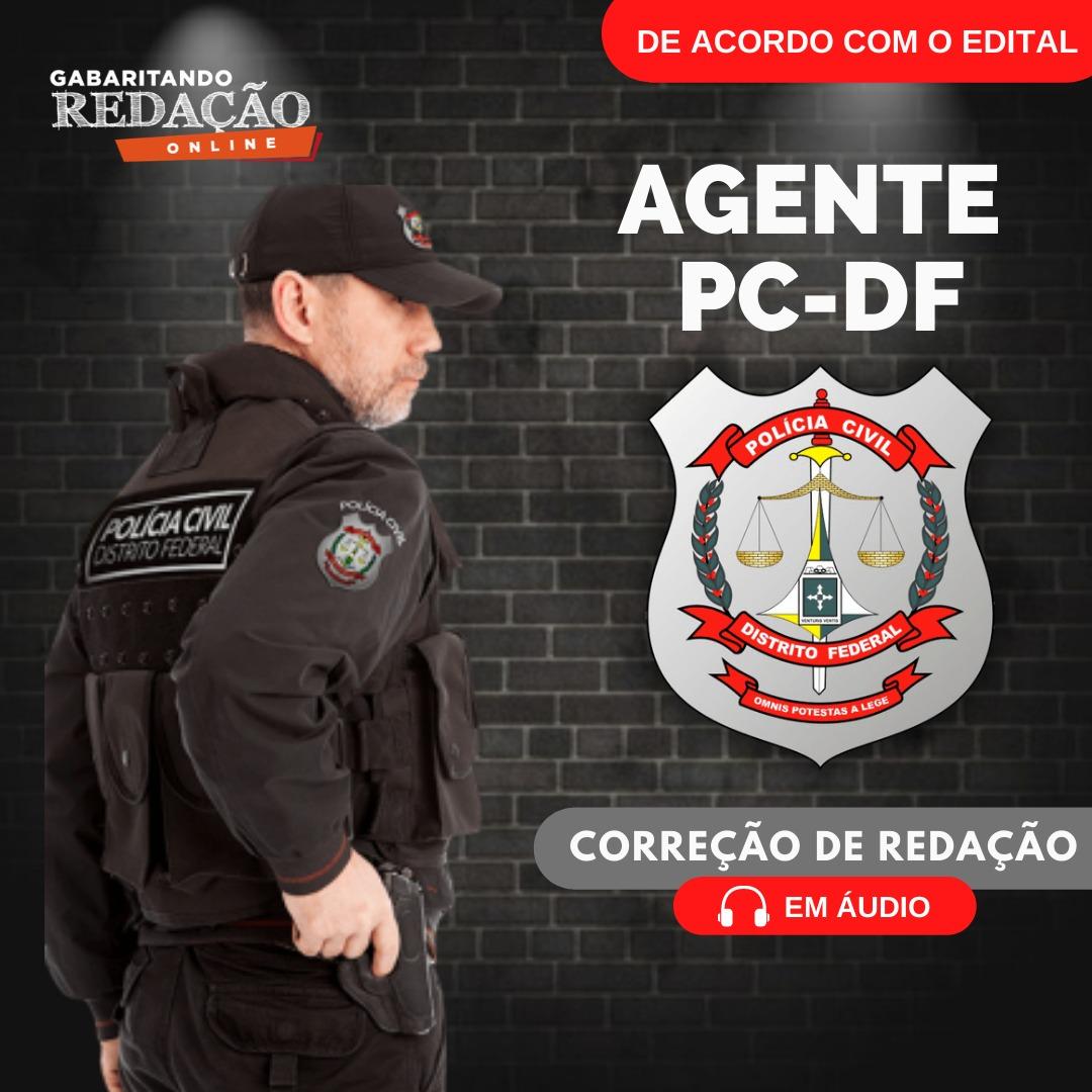 CURSO DE REDAÇÃO PREPARATÓRIO PARA O CONCURSO DE AGENTE DA PCDF