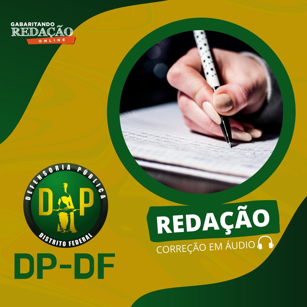 CURSO DE REDAÇÃO PREPARATÓRIO PARA O CONCURSO DP/DF + BÔNUS CURSO TEÓRICO