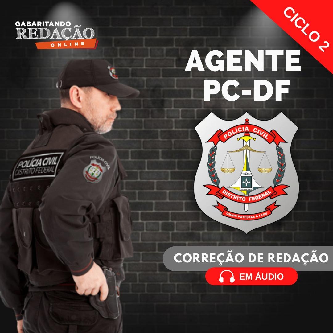 CURSO DE REDAÇÃO PC - DF / CARGO AGENTE + CURSO DE QUESTÕES / (CICLO 2)