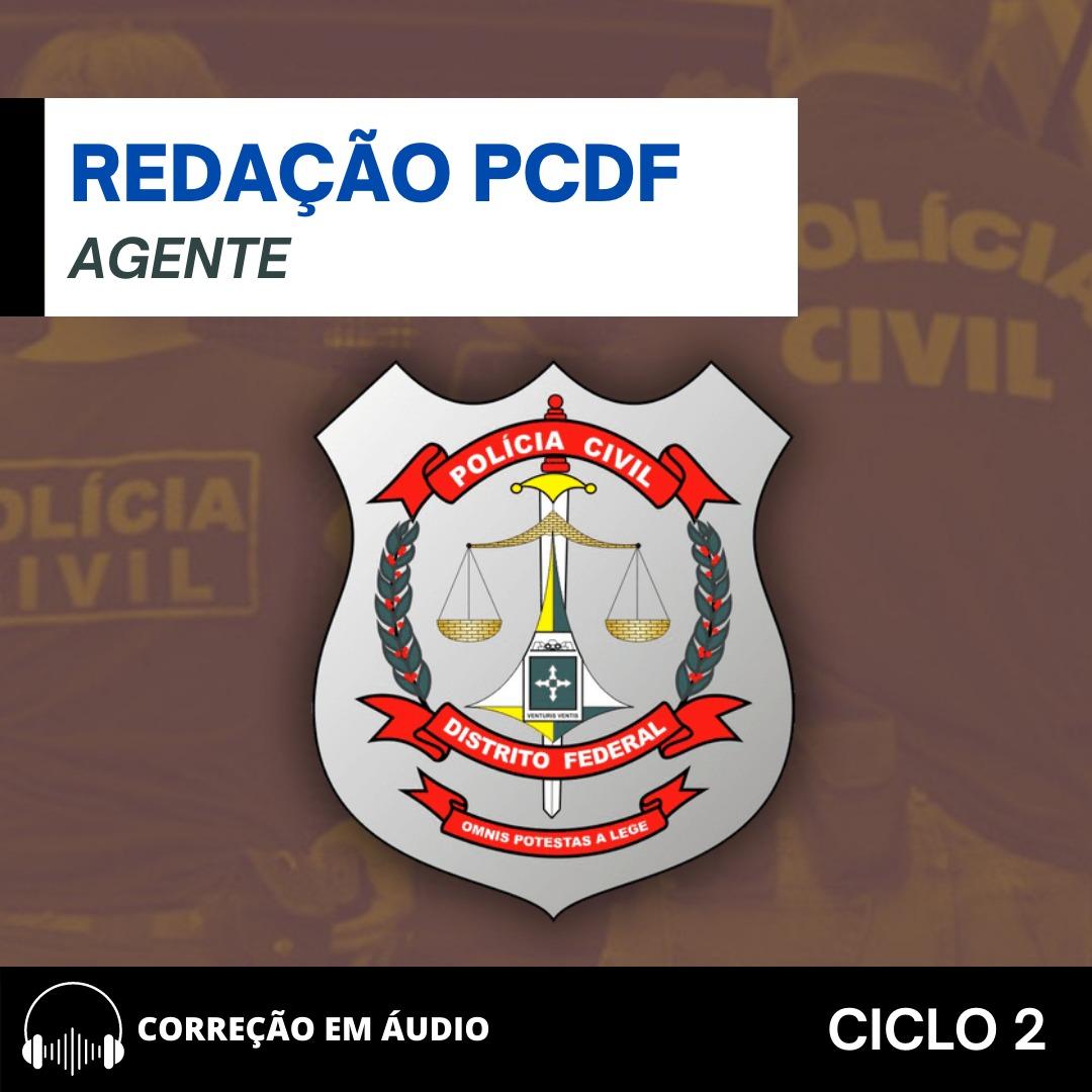 CURSO DE REDAÇÃO PREPARATÓRIO PARA O CONCURSO  AGENTE PC -DF + BÔNUS CURSO DE QUESTÕES