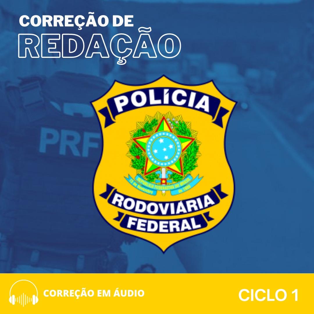 CURSO DE REDAÇÃO PREPARATÓRIO PARA PRF + BÔNUS CURSO TEÓRICO