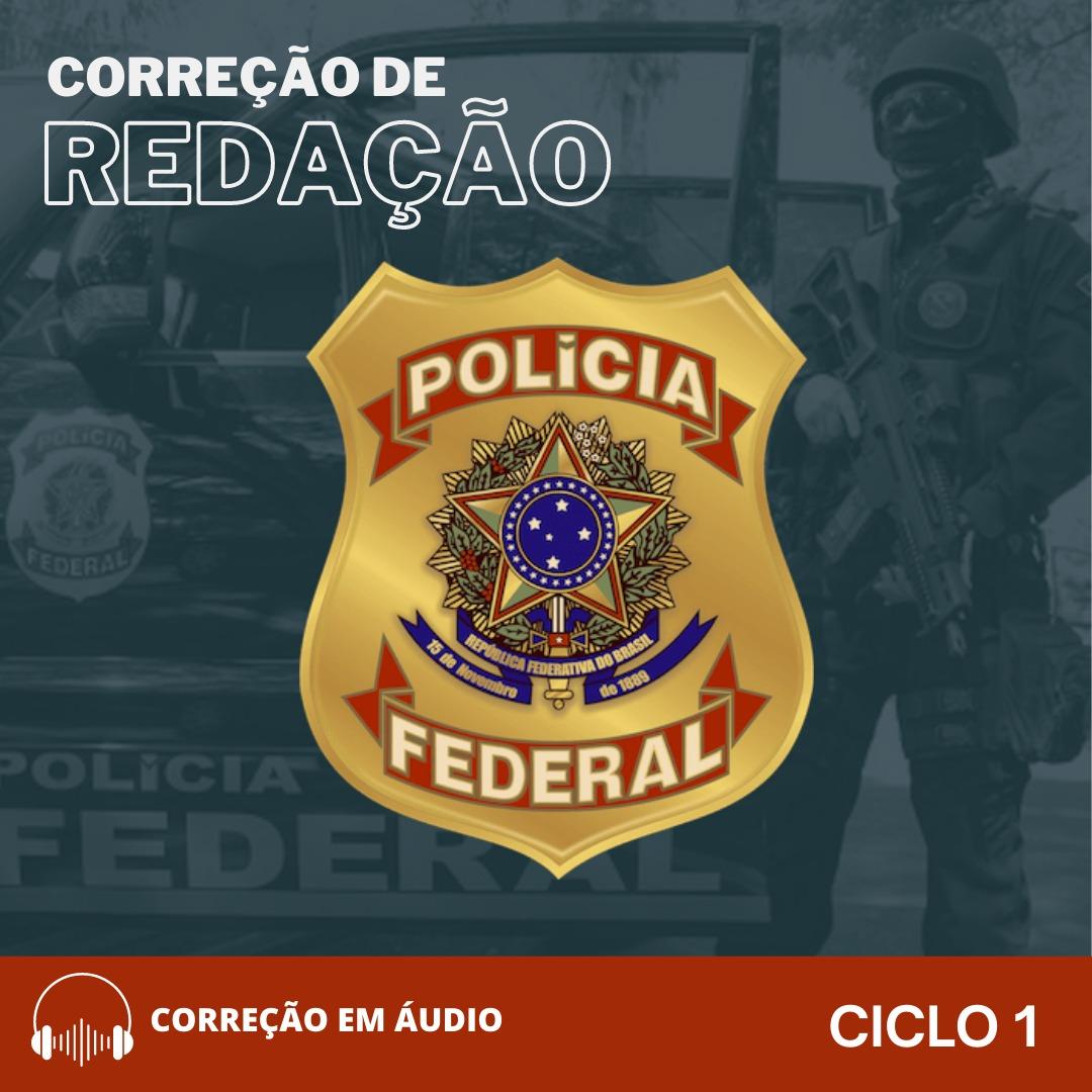 CURSO DE REDAÇÃO PREPARATÓRIO PARA PF + BÔNUS CURSO TEÓRICO