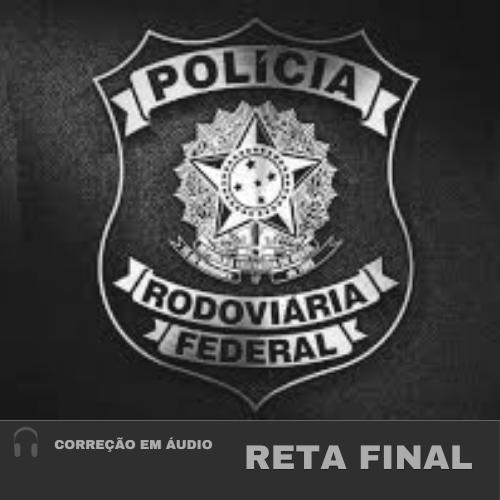 CURSO DE CORREÇÃO DE REDAÇÃO PRF - RETA FINAL