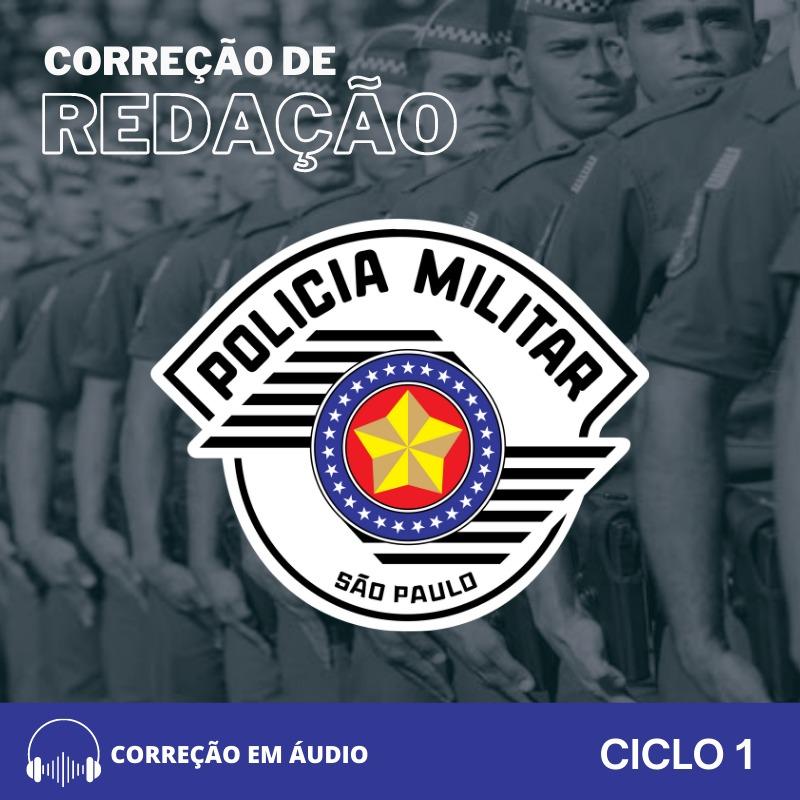 CURSO DE REDAÇÃO  PREPARATÓRIO PARA O CONCURSO PM-SP  / RETA FINAL