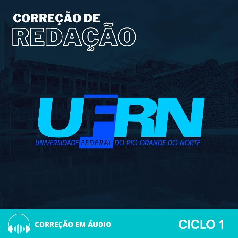 CURSO DE REDAÇÃO PREPARATÓRIO PARA O CONCURSO UFRN