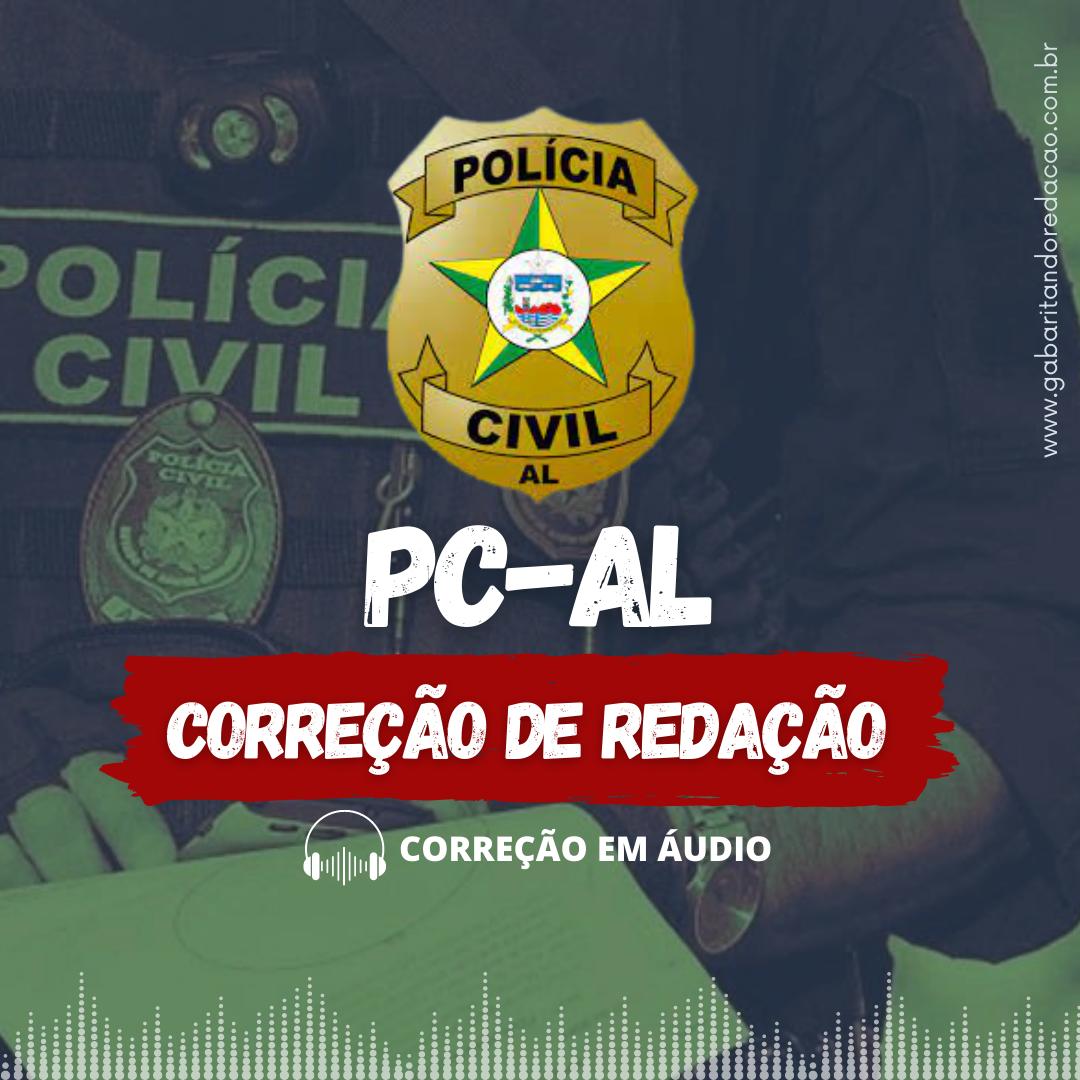 CURSO DE REDAÇÃO PREPARATÓRIO PARA O CONCURSO PC-AL + ATUALIDADES