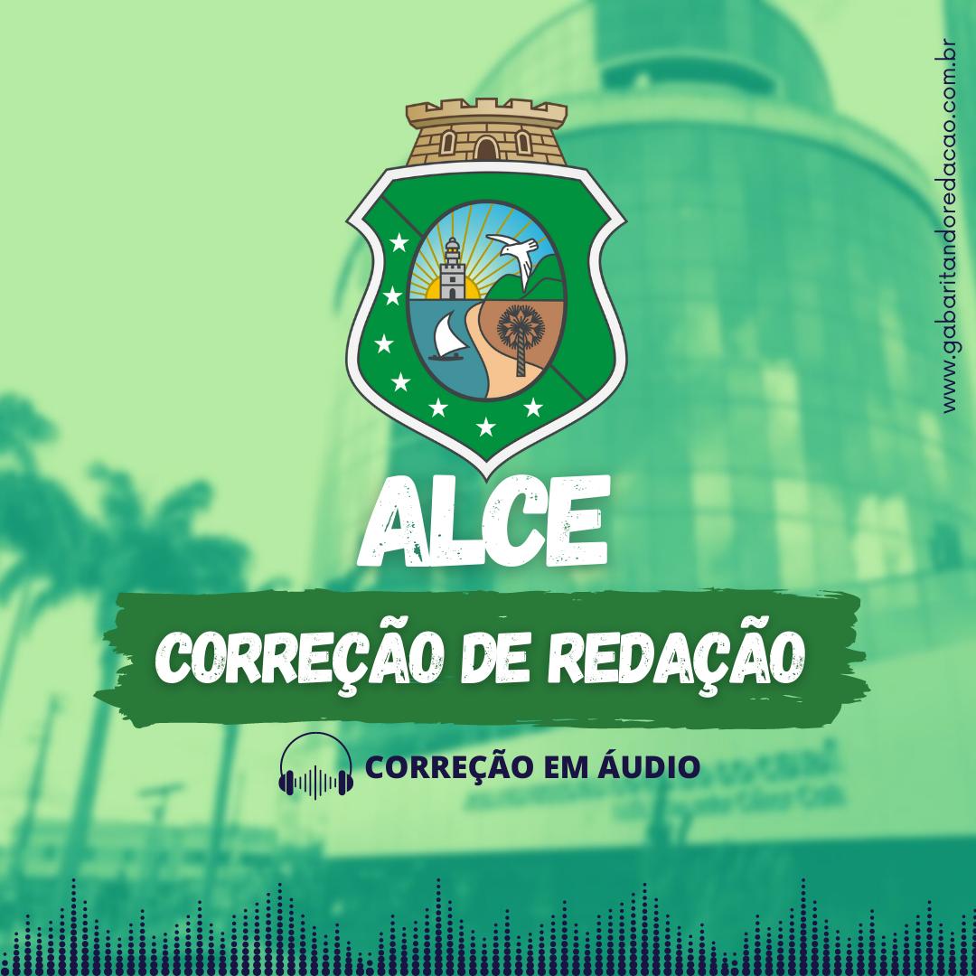 CURSO DE REDAÇÃO PREPARATÓRIO PARA O CONCURSO AL-CE + ATUALIDADES (NOVOS TEMAS)