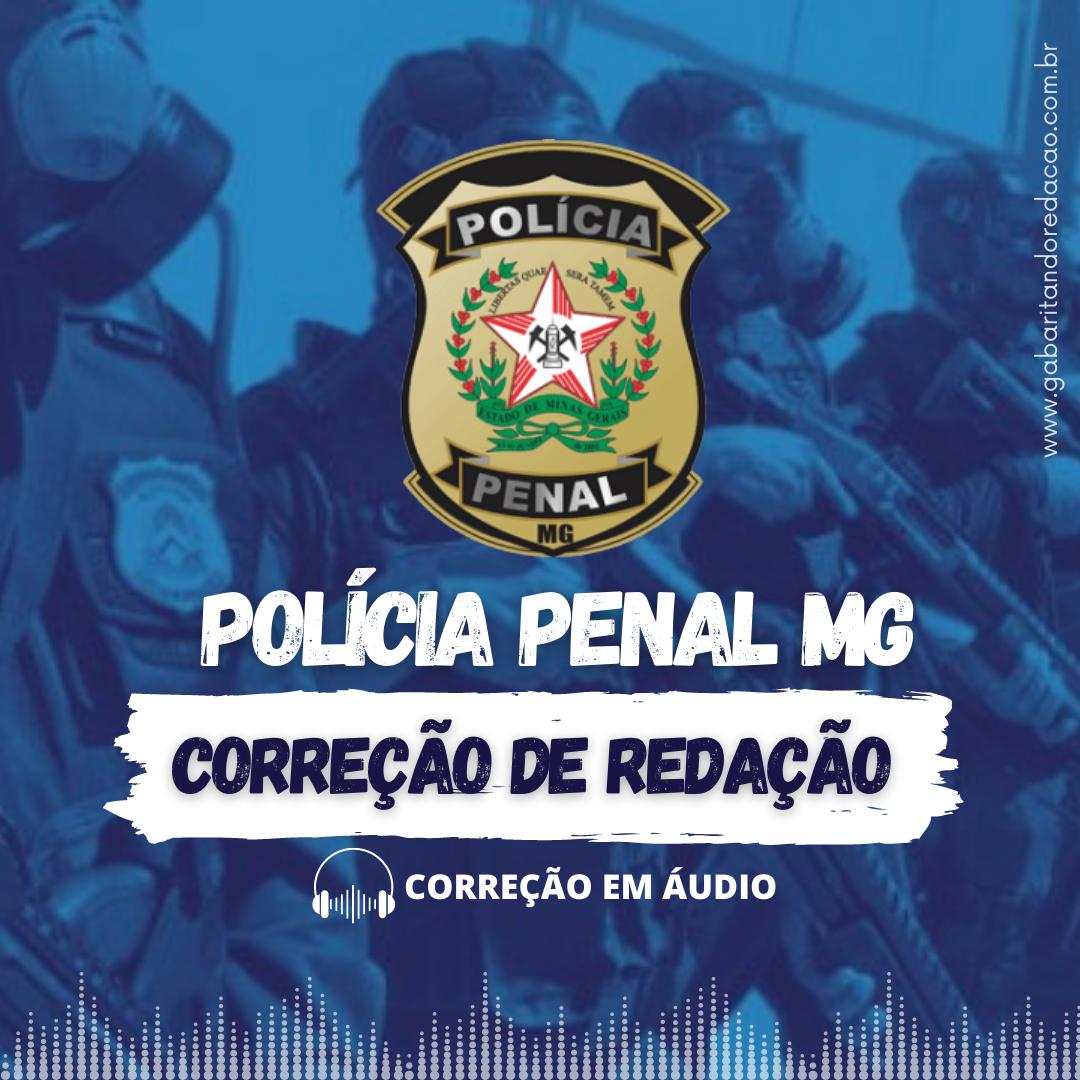 CURSO DE REDAÇÃO PREPARATÓRIO PARA O CONCURSO DA POLÍCIA PENAL - MG