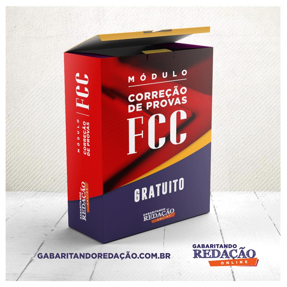 CORREÇÃO DE PROVA FCC GRATUITO